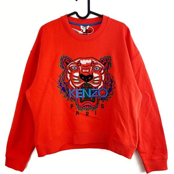 abb19769 Kenzo Tops | Brand New With Tags Sweatshirt Crewneck | Poshmark
